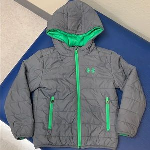 Under Armor Boys puff jacket size 5
